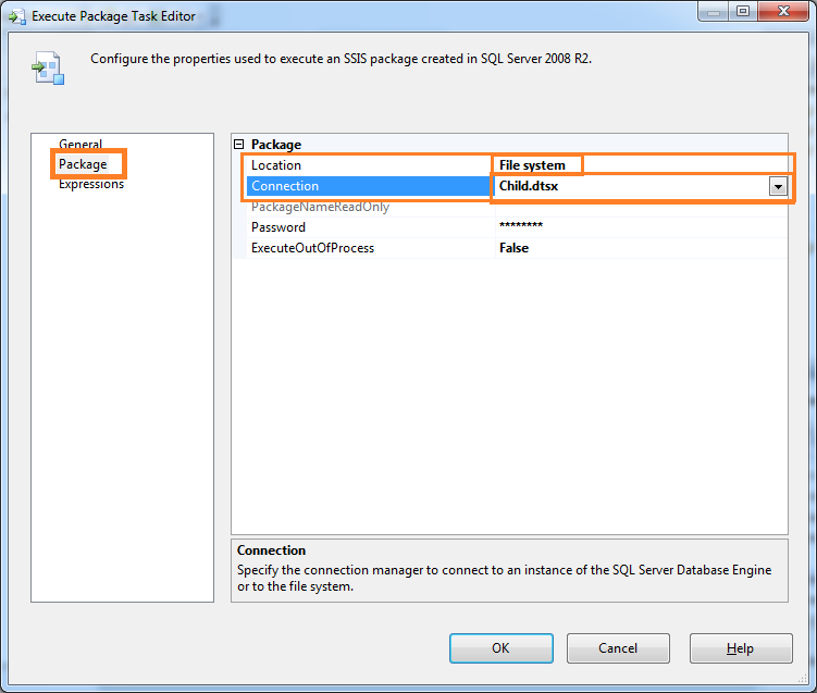 Execute a package from another package with variable – SSIS   SQL