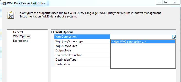 Fetch SQL Server Service details with WMI Data Reader Task