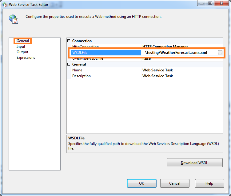 Call a web service method using SSIS | SQL Server Rider