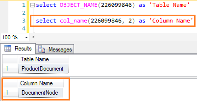 how to change name of column in sql